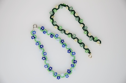 Daisy chain anklets