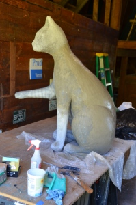 """Big Max"" in the barn"